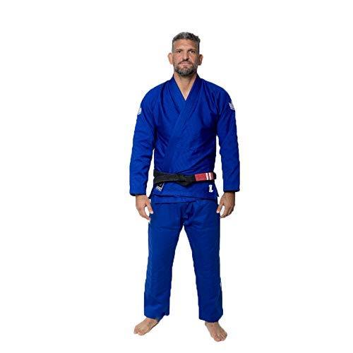 KINGZ The One Kimono Azul Brasileño Jiu-Jitsu Gi BJJ Kimono Uniforme Grappling (A3L)
