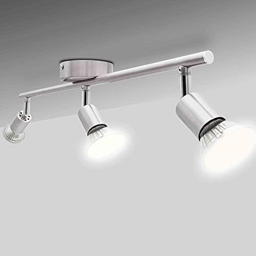 National Electronics GU10 3,5W 250lm LED plafonnier, 3 flammes, 230V, plafonnier