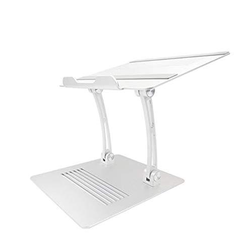 SIRIGOGO Soporte para portátil, Soporte multiángulo con ventilación de Calor para elevar el portátil, Soporte Ajustable para portátil de hasta 17 Pulgadas, Compatible con Todos los Ordenadores