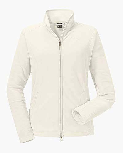 Schöffel Leona2 Damen Fleece Jacke, Weiß (Whisper white), 42