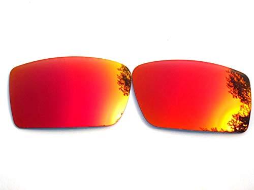 Galaxy vervangende lenzen voor Oakley Gascan Fire rode kleur gepolariseerd
