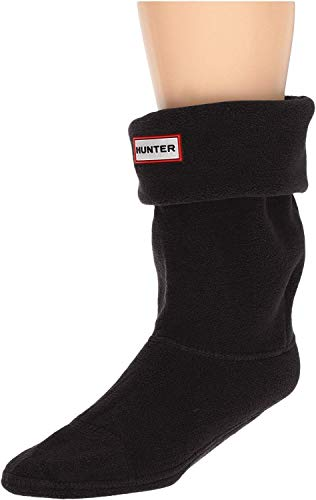 Calcetines Hunter cortos de forro polar Negro negro Large