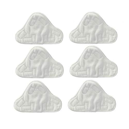 Microfibre Coussinets En Tissu À Fit Vax, Bionaire, Efbe-schotte, H2o, Montiss & Delta Vapeur Mops (pack De 6)