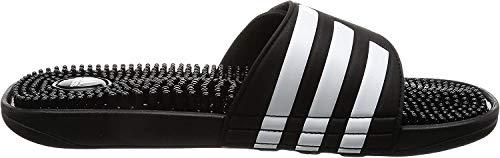 adidas Herren Adissage Dusch- & Badeschuhe, Schwarz (Black/Black/Running White FTW), 46