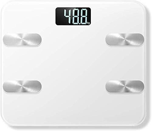 KXA Escala del Peso del medidor de Grasa Corporal Escala de Grasa Escala Escala electrónicos de Uso doméstico de Peso Corporal de Grasa Metros
