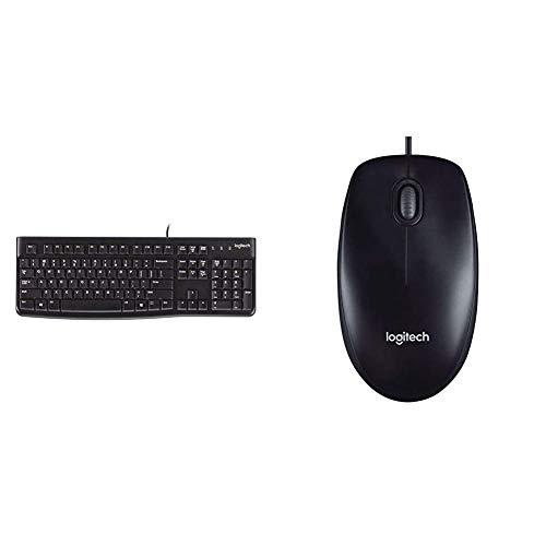 Logitech K120 Teclado con Cable Business para Windows,...