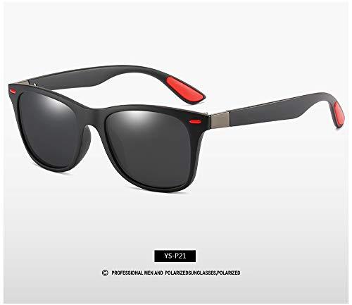 Gafas de sol polarizadas para hombre y mujer, tono de conductor, estilo vintage, gafas de sol para hombre, espejo de verano (lentes de color: C1)