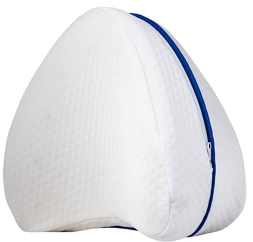 Cojin almohada ortopedica cervical para dormir de lado bien las piernas, cojin con propiedades viscoelásticas que da confort en la zona lumbar, Para espalda, cadera y articulaciones, pillows bed sleep