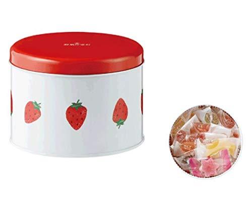 彩果の宝石 ストロベリー缶 国産もち米あられ1個セット