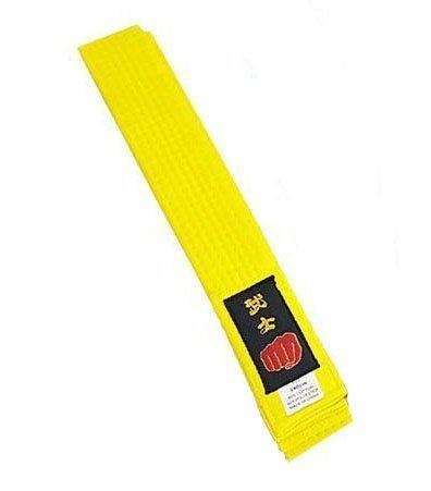 Longford Store UK Karate Pas sztuki walki Taekwondo Judo Kickboxing Ju-Jitsu Shotokan (żółty, Junior 240 cm)