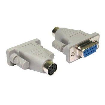 Aptii PS/2 Maus auf 9 pin Netzteil Konverter serielle Schnittstelle