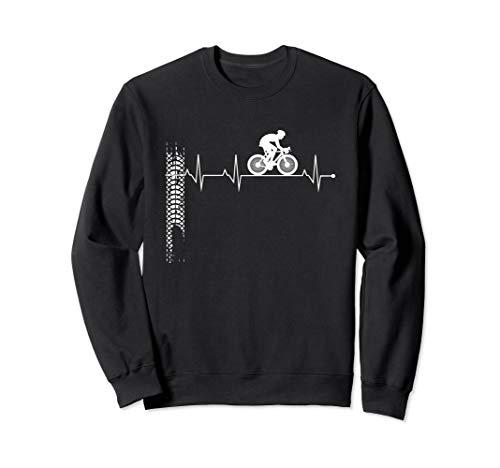 Fahrrad Herzschlag | Radfahren Fahrrad Sweatshirt