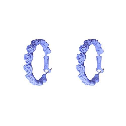 LRHD Pendientes de botón, moda exquisita pequeña guirnalda de pendientes de la forma de joyería de los pendientes de las muchachas de las mujeres de los hombres de moda for los regalos de cumpleaños /