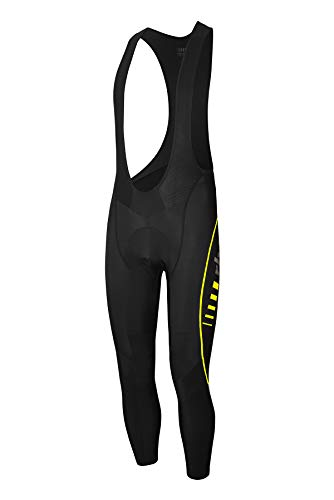 RH+ Reflex Evo Bibtight Reflex Evo Bibtight, Uomo, black/yellow fluo, M