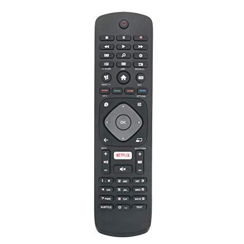 VINABTY 996596003606 Fernbedienung ersetzt für Philips 4K UHD Smart TV 32PFS5362 55PUS6262 55PUS6101 32PFS5803 50PUS6162 43PUH6101 43PUS6162 43PUS6262 49PFS5301 3986GR08 43PFS5301 43PFS5302 43PUS6101