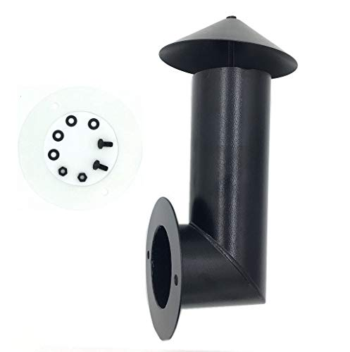 ZHOUWHJJ Pellet Grill Smoke Stack Replacement Part Smoke Chimney for Traeger,Pit Boss, Camp Chef and Other Pellet Grills Smokers