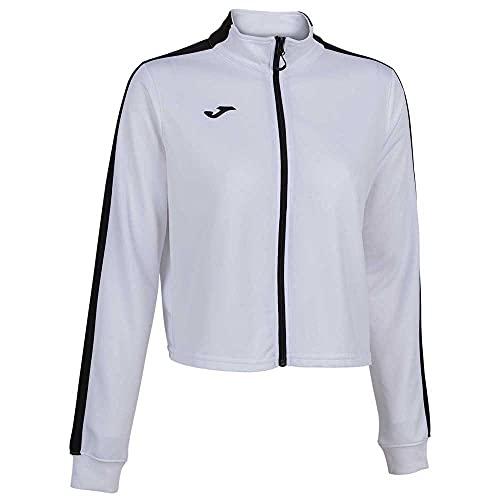 Joma Torneo Full Zip Sweatshirt White/Black. 901223.201. Talla S