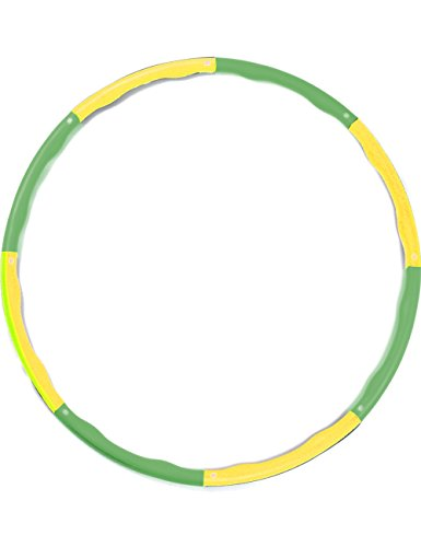 Licli Diet Hula Hoop, Collapsible, Adjustable Size, Suitable for Adults, Suitable for Children, One Size Fits All, Waist - slimming Aerobic Exersize, Burns Fat, Easy - to - Carry Folding Hoop, Flexible Material that is Easy to Spin, 11 Colors