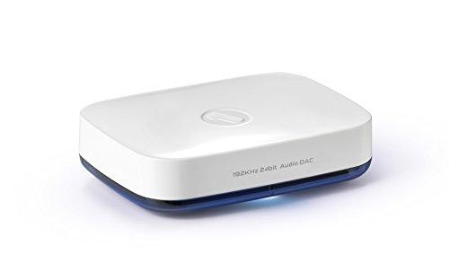 One For All SV1820 Ricevitore musicale Bluetooth HD – con DAC Wolfson high-end Trasmette la musica in modalità wireless dal dispositivo smart e sistema musicale - Plug & Play – bianco
