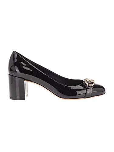 SALVATORE FERRAGAMO Luxury Fashion Damen 01N765 Schwarz Pumps | Frühling Sommer 20