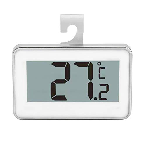 Guangcailun Nevera Digital Colgante Termómetro Impermeable Congelador habitación Medidor de Temperatura Helada Advertencia - 20 ℃ a 60 ℃