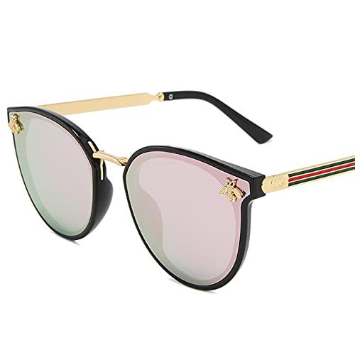YCHH 2021 Bee Gafas de Sol Mujeres Hombres Vintage Gradiente Gafas Retro Gafas de Sol Mujer Eyewear UV400 Moda Drive al Aire Libre (Color : 4)