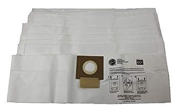 Hoover HushTone Canister Vacuum Bags AH10163 CC1 Standard Filtration,10 Pack