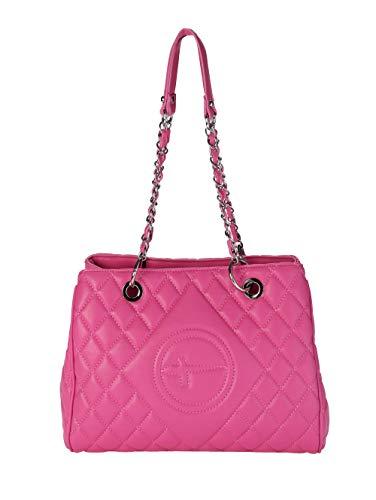 Tamaris Shopper aus hochwertigem Softmaterial mit Steppung pink
