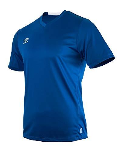 UMBRO Fw Vee Training T-Shirt de Sport pour Homme XL TW Bleu Roi