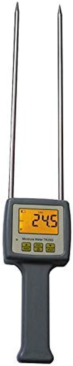Digital Grain Moisture Meter,Portable Moisture Meter for Packed Grains, Barley, Corn,Hay,Oats,Rapeseed,Rough Rice,Sorghum,Soybeans and Wheat