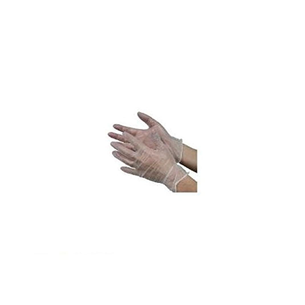 知性銛調和のとれたAS56586 モデルローブビニール使いきり手袋【粉つき】L 100枚入 NO930