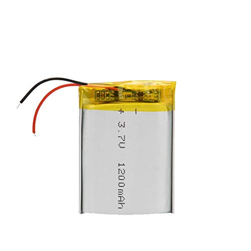 THENAGD 3.7v 1200mah Lithium Polymer Rechargeable Battery, for Mp3 Mp4 Gps Psp Vr Dvd Mobile Video Game Tablet Power Bank 4Pcsbattery