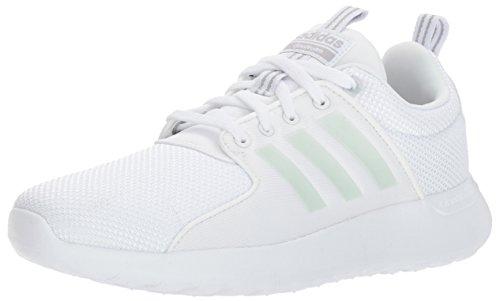 adidas NEO Men's CF Lite Racer Running Shoe,White/White/Grey Two,11.5 Medium US