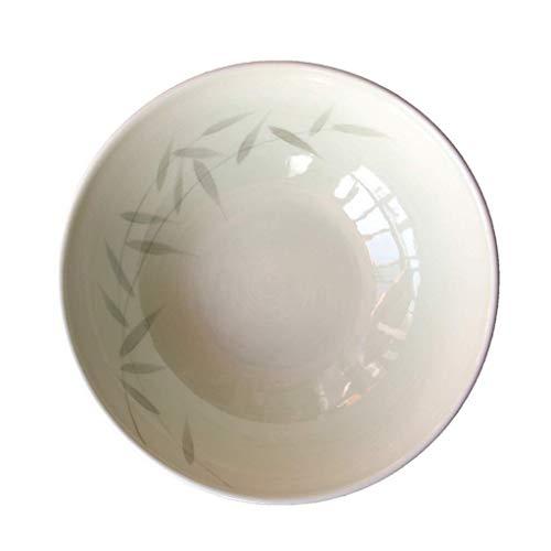 MJK Tazones y platos caseros de la novedad, tazón de cerámica minimalista moderno, antideslizante, resistente a los resbalones, resistente al escaldado, creativo, multiusos, vajilla pintada, bandeja