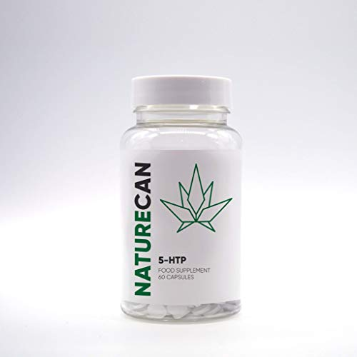 5-HTP Plus Hemp Oil Alternative for The Aid of Stress and Anxiety & Improved Mood