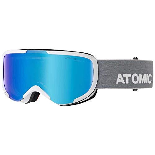 ATOMIC Savor Stereo skibril klein (kleur: wit, schijf blauw stereo)