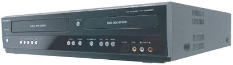 Magnavox ZV457MG9 Dual Deck DVD/VCR Recorder,Black