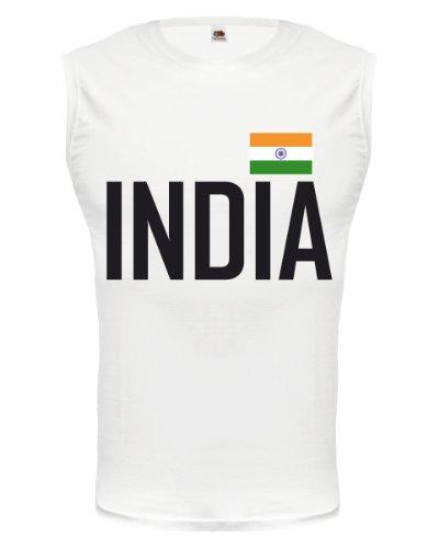 buXsbaum Tank Top Indien-M-White-