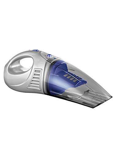 Aspirateur à main avec 3 accessoires - Bleu/argenté