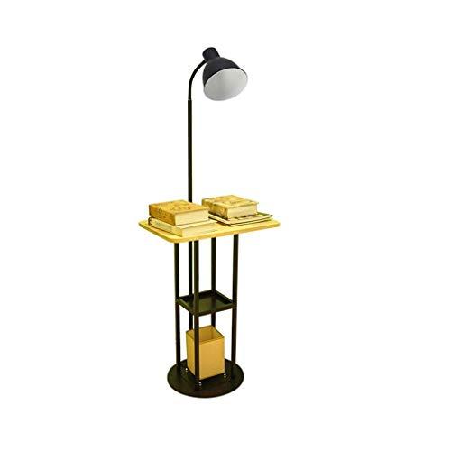 LY88 Licht Multifunctionele Leesbalie Lamp Woonkamer Slaapkamer Slaapkamer Bed Feeding Thee Tafel Opslag Creatieve Studie Vloerlamp Kleur : Zonder nachtlampje