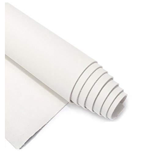 LPLND Imperméable Tissu en Simili Cuir Souple, 1,8 Mm D épaisseur,pour Ameublement, Canapé, Chaises, Sacs Rénovation de Vieux Meubles,Blanc (Size : 1.38m×10.5m)