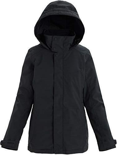 Burton Womens Jet Set Jacket, True Black Heather New, Large
