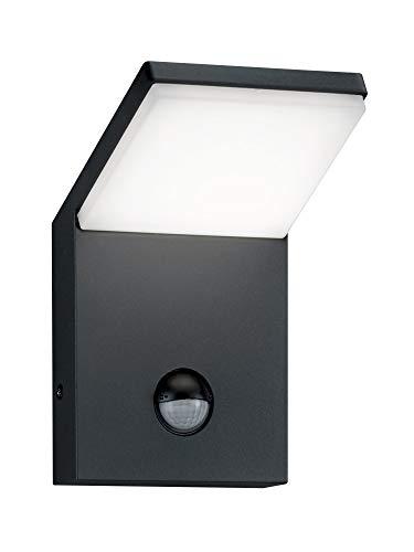 Trio Leuchten LED Außenleuchte Pearl 221169142, Druckguss Aluminium anthrazit, 1x 9 Watt