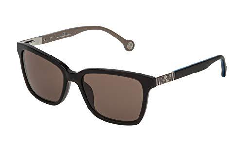 Carolina Herrera Gafas de Sol SHE692540G73 (Diametro 54 mm), Brown, Talla Unica Unisex-Adult