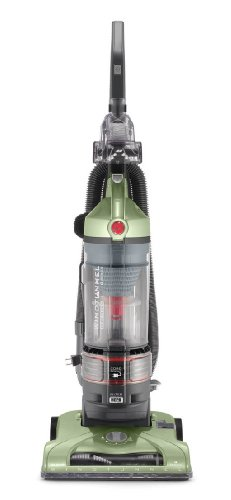 Hoover T-Series WindTunnel Rewind Plus aspiradora Vertical sin Bolsa con Cable, Verde, 1