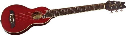Washburn RO10TR - Guitarra acústica con cuerdas metálicas, color rojo