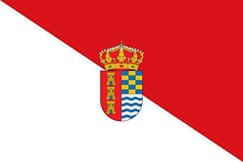 magFlags Bandera Large Municipio de Valdetorres; en Badajoz, España | Bandera Paisaje | 1.35m² | 90x150cm
