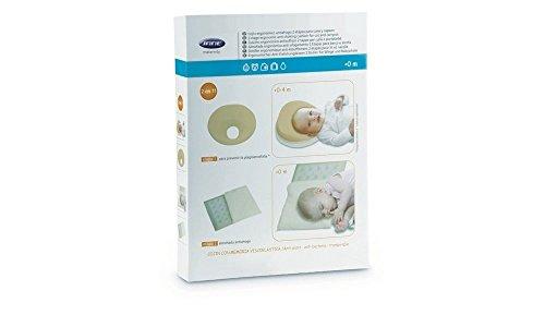 Jane cojín de espuma 2in1 anti plagiocefalia, anti-soffoco para cama para cuna y cochecito