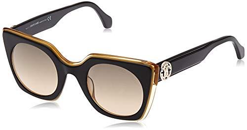 Roberto Cavalli RC1068 4805B Roberto Cavalli Sonnenbrille RC1068 05B 48 Schmetterling Sonnenbrille 48, Schwarz