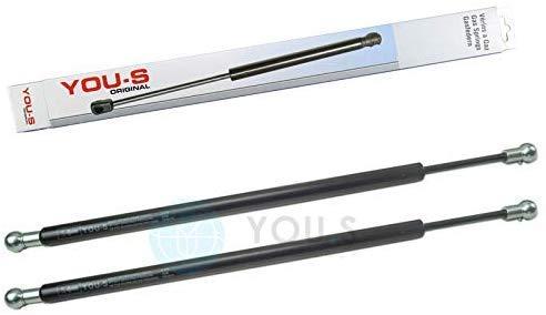 YOU.S 04402639 Gasfeder für Tür/Front-/Heckscheibe Länge: 505 mm Kraft: 200 N (2 Stück)